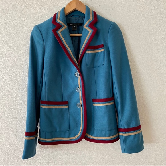 Marc Jacobs Jackets & Blazers - Marc Jacobs Wool Preppy Schoolboy Blazer